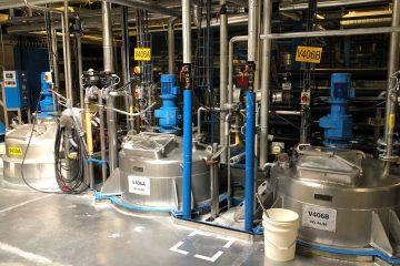 cuve mélanges dosage cuve procédé batch